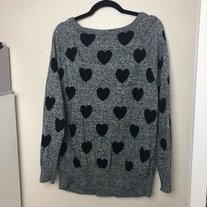 torrid Sweaters - Torrid Cotton Heart Sweater Size 2